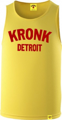 Kronk Detroit Training Gym Vest - Yellow